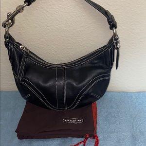 COACH mini purse - leather w/it's dust bag